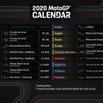 MotoGP 2020 updated calendar released
