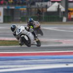 John McPhee falls foul of torrential conditions at Misano