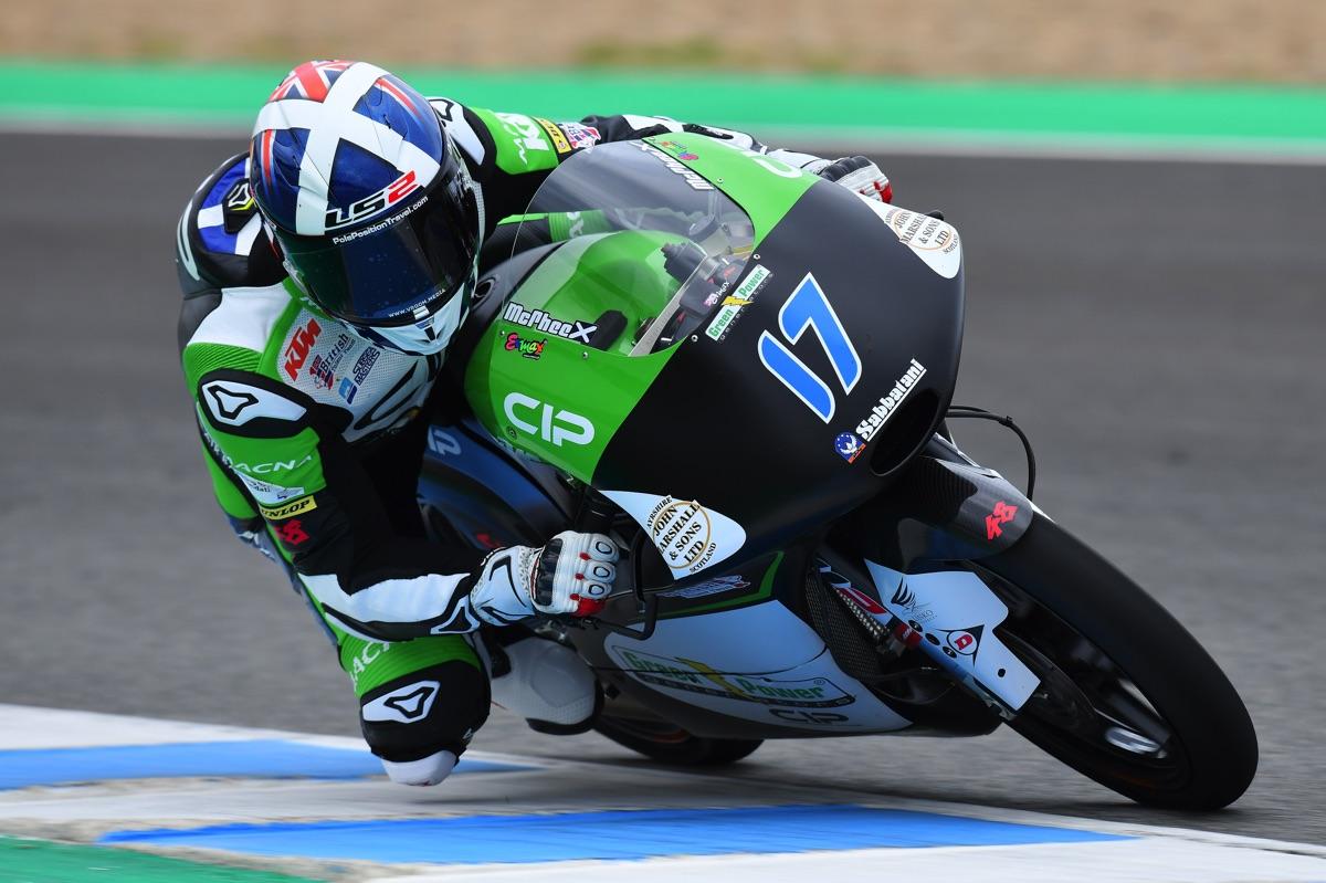 2018 Testing - John McPhee Official Website | Moto3 World Championship | #17