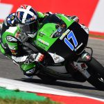 John crashes out fighting for the win in Assen