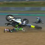 John bruised but declared fit following Thai FP2 crash