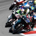 John on fine fighting form in eventful Catalan GP